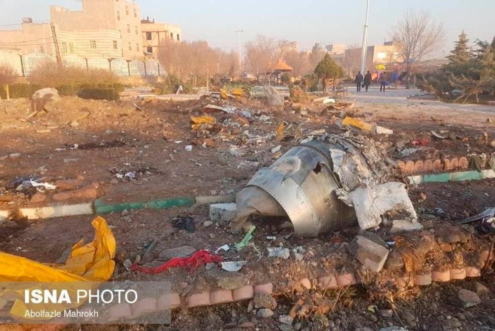 Крушение украинского авиалайнера в Иране