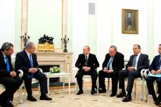 Встреча Владимира Путина с Биньямином Нетаньяху.