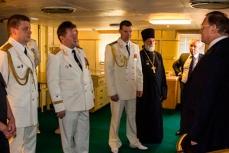 """На борту исследовательского судна """"Адмирал Владимирский""""."""