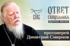 Глава Патриаршей комиссии по вопросам семьи, защиты материнства и детства протоиерей Дмитрий Смирнов
