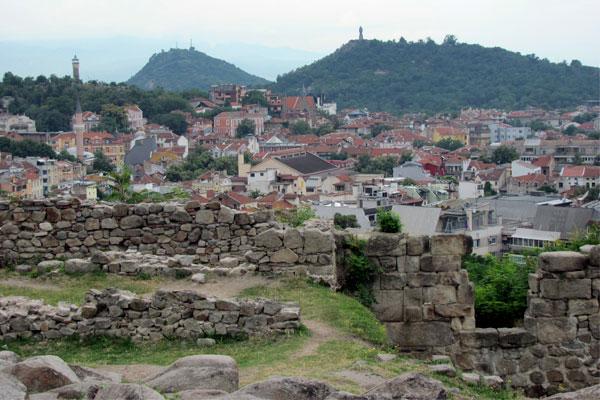 Древние исторические памятники Болгарии.