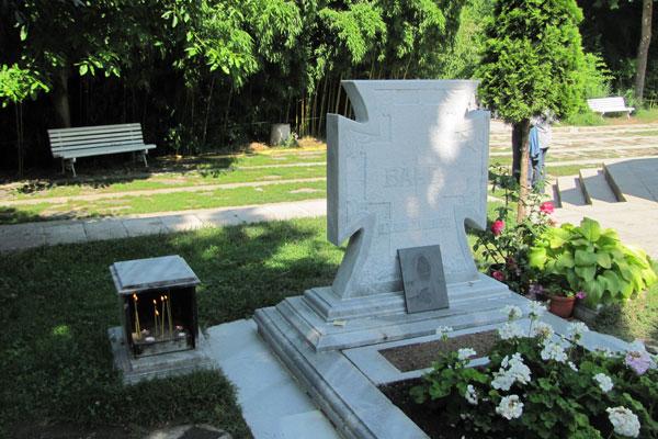 Могила Ванги в селе Рупите. Болгария.