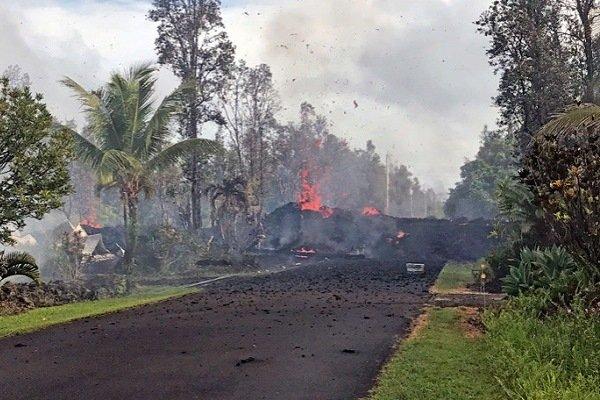 Землетрясение на Гавайях