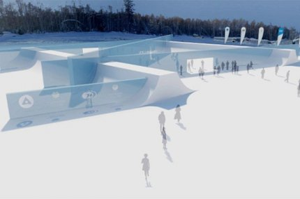 Ледяная библиотека, Байкальск.