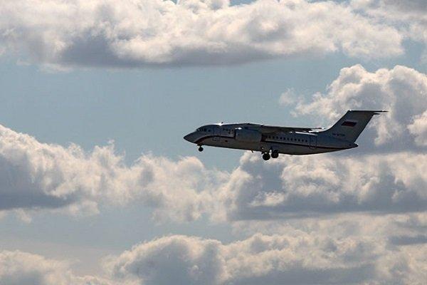 Ан-148 идет на посадку