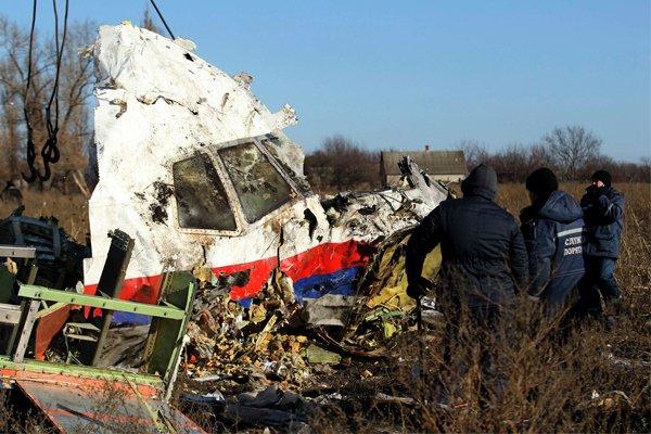 Сбитый Боинг над Донбасом