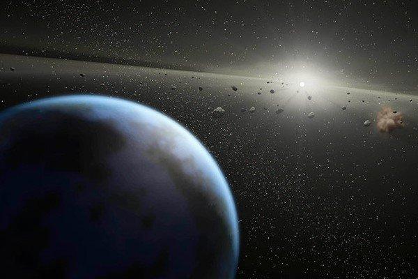 ВNASA обнаружили два спутника уастероида Флоренция