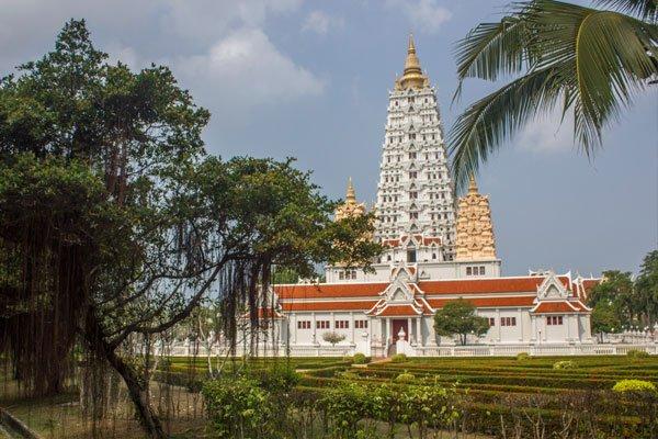 Храмовый комплекс Wat Yannasangwararam. Таиланд, Паттайя.