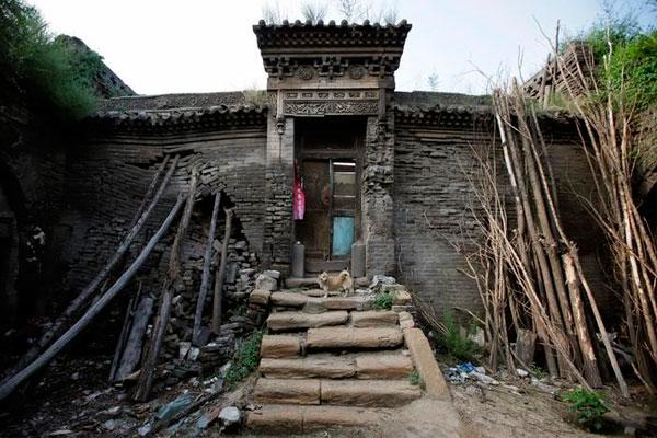 Дом в провинции Шэньси.
