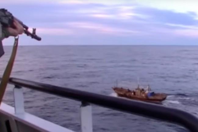 Российские пограничники задержали 161 браконьера из Северной Кореи