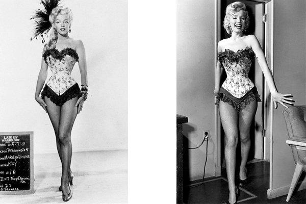 Мэрилин Монро, обладательница самой тонкой талии в Голливуде