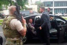 Видеохроника  ареста экс-президента Бразилии Мишела Темера