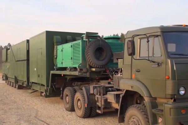 """Российский боевой лазер """"Пересвет"""" прибыл на место дислокации"""