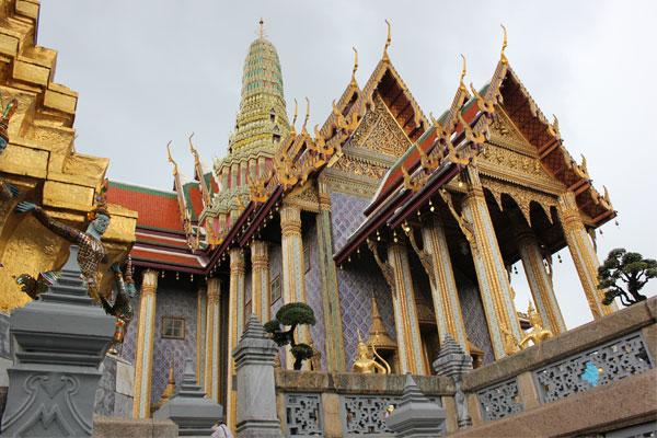Большой королевский дворец (Grand Palace) в Бангкоке, Таиланд.