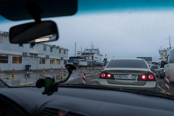 "Накопитель для легкового транспорта. Порт ""Кавказ""."