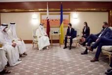 Делегация президента Украины на приеме у руководства Катара грубо нарушила правила этикета в арабских странах