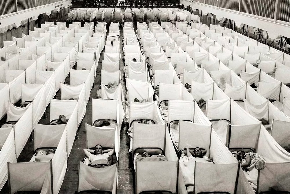 Эпидемия испанского гриппа