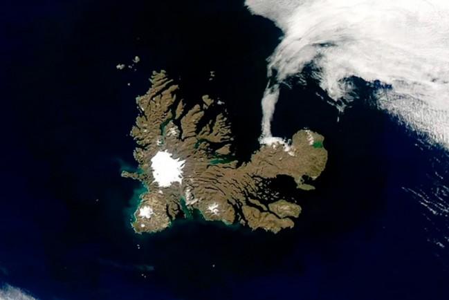 На Земле обнаружен новый зарождающийся континент