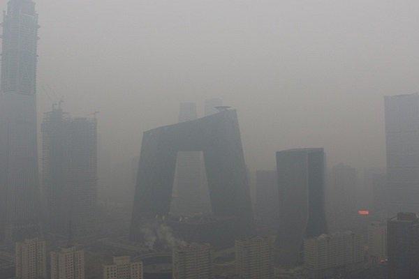 Смог окутал Пекин