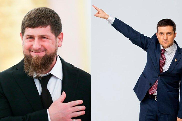 Кадыров и Зеленский