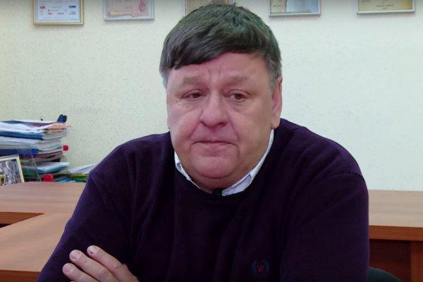 """Петр Алешковский, победитель премии """"Русский Букер"""" в 2016 году."""