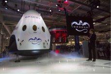 Космический аппарат Dragon.