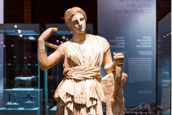 Выставка «Боги и герои Древней Греции», Москва, 16 ноября 2016.