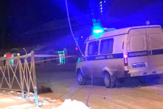 Убитая в Перми на улице женщина