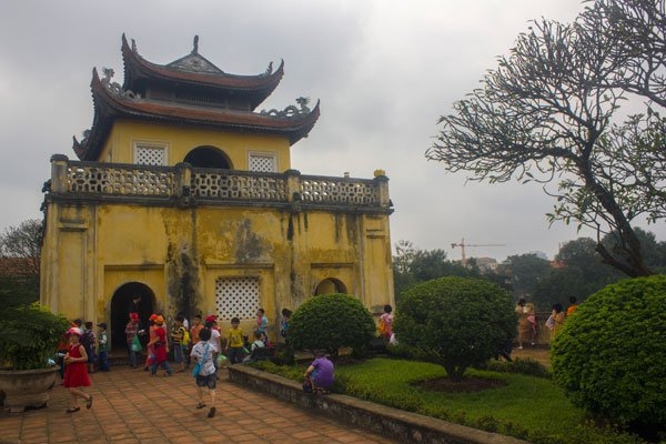 Ханойская цитадель (Imperial Citadel of Thăng Long).