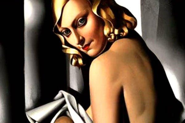 Картина художницы Тамары де Лемпицкой