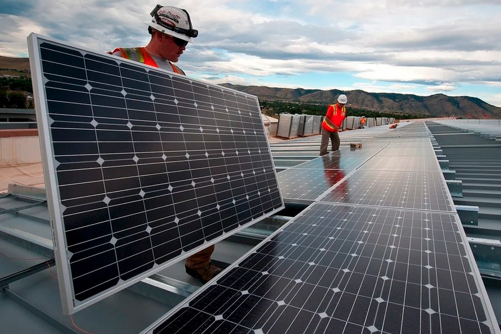Солнечные батарей