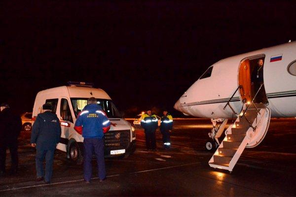 Спасённого 10-месячного мальчика перевозят в Москву