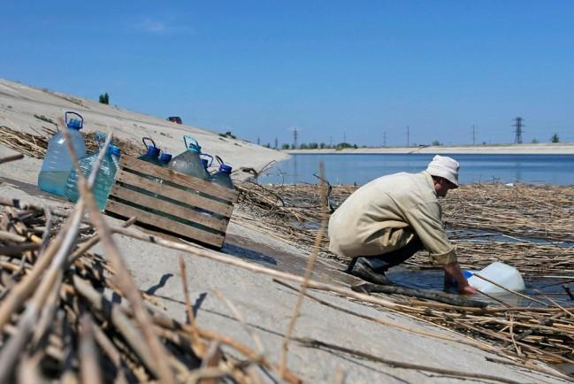 Крым испытывает нехватку пресной воды
