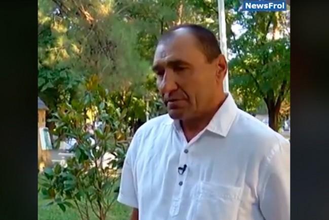 Казак озвучивает своё мнение о конфликте с мужчиной на День города в Геленджике