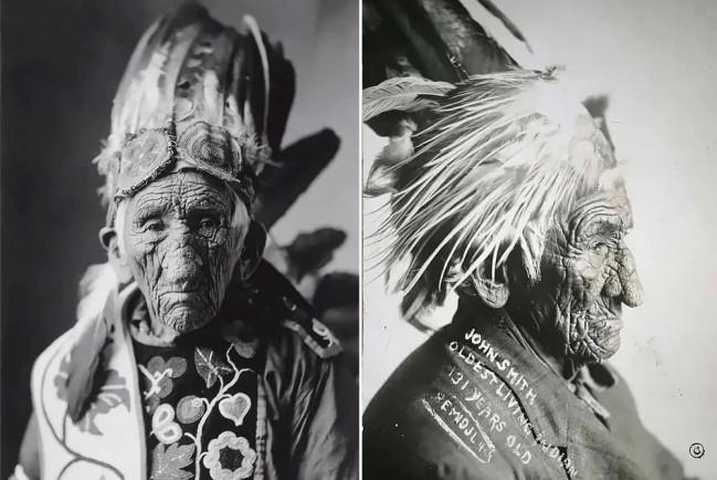 Самый старый индеец в мире, который прожил три века