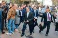 Проходит второй тур выборов президента Украины. Петр Порошенко приехал на избирательный участок
