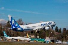 Авиалайнер 737 MAX 8