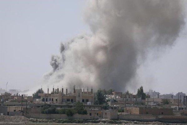 Ракка, Сирия.