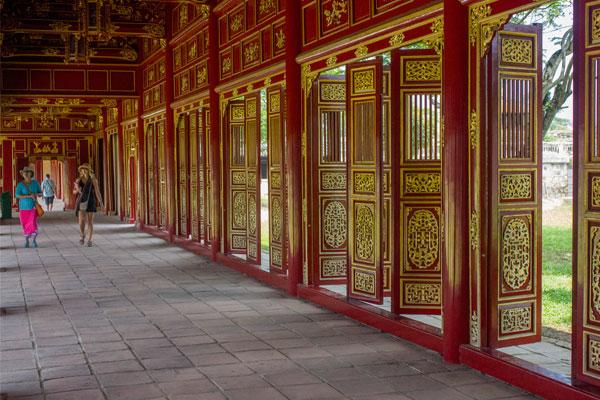 Интерьер. Императорская цитадель, г. Хюэ. Вьетнам.