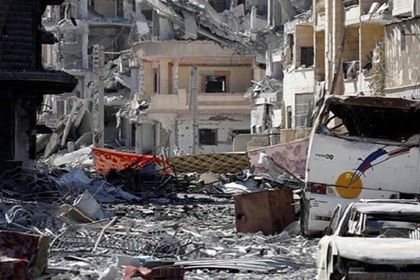 Сирийская Ракка