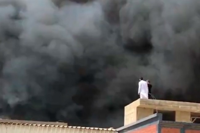 Крушение авиалайнера в Карачи