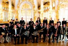 Адмиралтейский оркестр в Санкт-Петербурге.