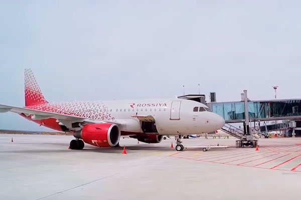Терминал аэропорта в Симферополе
