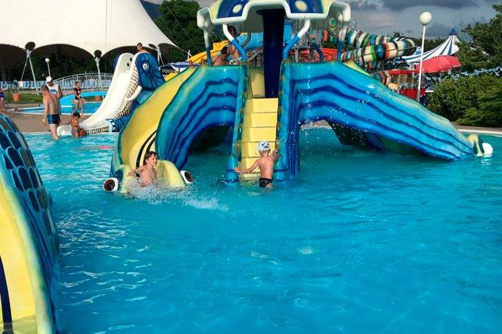 Аквапарк в Геленджике