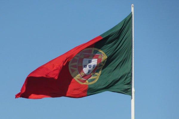 Государственный флаг Португалии.