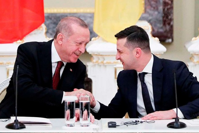 Зеленский и Эрдоган договорились о войне в Крыму, Донбассе и Нагорном Карабахе