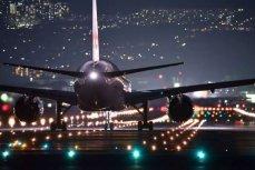 Посадка самолёта.