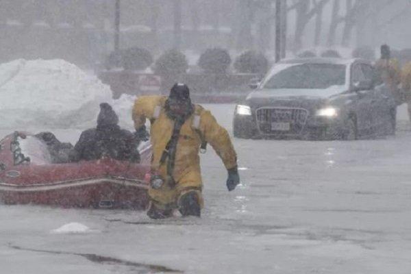 Циклон в Бостоне