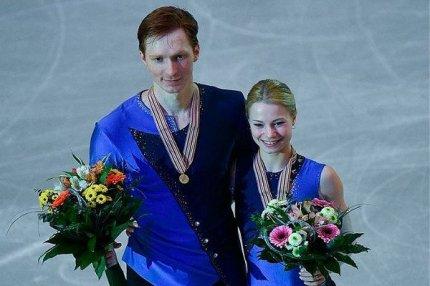 Тарасова и Морозов на Чемпионате Европы, Чехия.