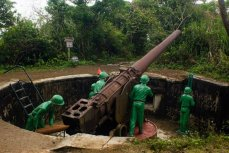Остров Cat Ba. Cannon Fort.